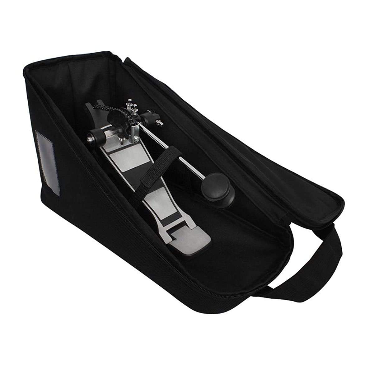 Huiying Bass Drum Single Pedal Pack Percussion Single Step Accessory Storage Bag Step Hammer Bag Bass Drum Single Pedal Carrying Bag Jazz Drum Percussion Accessories mnq903787207260