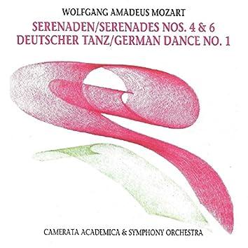 Wolfgang Amadeus Mozart - Serenades No. 4, No. 6 - German Dance No. 1