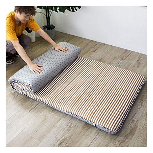 Colchón De Futón Japonés Tradicional, Colchón De Suelo Plegable Acolchado Colchón Para Dormir Colchón Disponible Para Cuatro Estaciones,E-135x190cm(53.15x74.8 in)