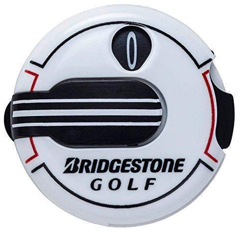BRIDGESTONE(ブリヂストン) BRIDGESTONE GOLF スコアカウンター GAG408 ホワイト