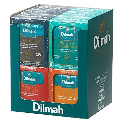 モルディブ・スリランカお土産 | ディルマ 紅茶 ティーバッグ 4種12箱セットの写真