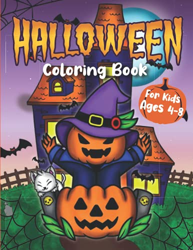 Halloween Coloring Book For Kids Ag…
