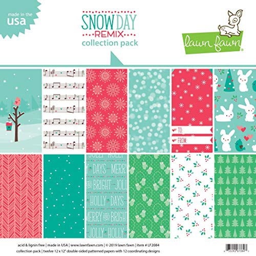 Lawn Fawn Snow Day Remix Collection 12