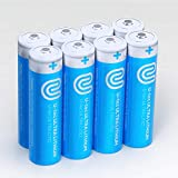 U-tec AA Ultra Lithium Battery (Pack of 8), 3000mAh 1.5V, Longest-Lasting AA Battery, Up to 10 Years in Storage and No Leaks Guaranteed, Works in Extreme Temperatures, Non Rechargeable