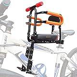 XIEEIX Asiento de bicicleta para niños de montaje frontal,