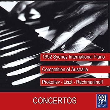 1992 Sydney International Piano Competition of Australia - Concertos