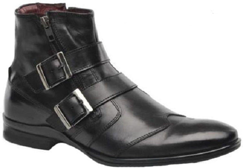 HGilliane Design Schuhe Lederstiefel Modell Tristan 33-46 NUR MIT IHREN FUMAEN