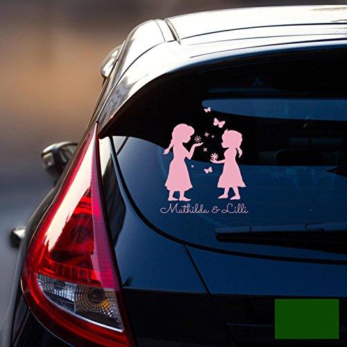 ilka parey wandtattoo-welt Sticker Autocollant Voiture Pare-Brise Arrière véhicule Autocollant bébé Reine des Neiges Frozen Enfants m1872