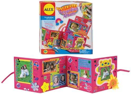ALEX Ranking TOP18 Boston Mall Toys Craft Best Friends Album Accordion