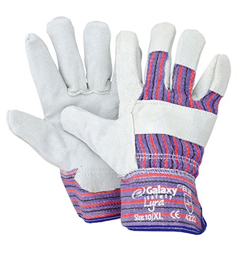 Galaxy Safety - Gants en cuir de style canadien Galaxy Lyra 24-239
