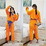 Albornoz para niños adultos Dragon Ball Son Goku, disfraz de Cosplay, bata de baño,...