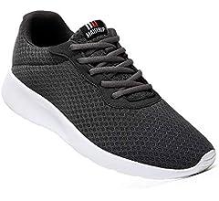 MAIITRIP - Zapatillas de Running de Malla para Hombre, Color Gris ...