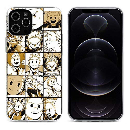 Mirio Togata Collage My Hero Academia Transparent Soft Silicone Phone Case for iPhone 12 Pro Max Mini Cover Shell(Wireless Charging) transparent-style1 iPhone 12Pro