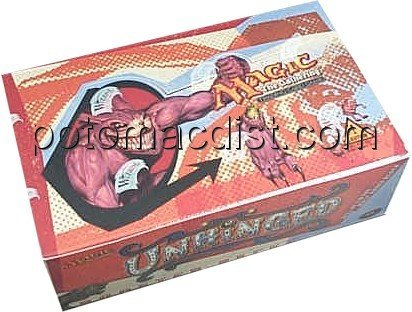 Magic The Gathering Card Game - Unhinged Booster Box - 36P15C