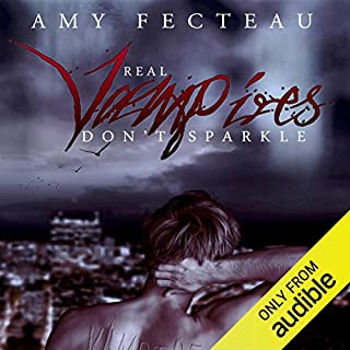 Real Vampires Don't Sparkle audiobook cover art