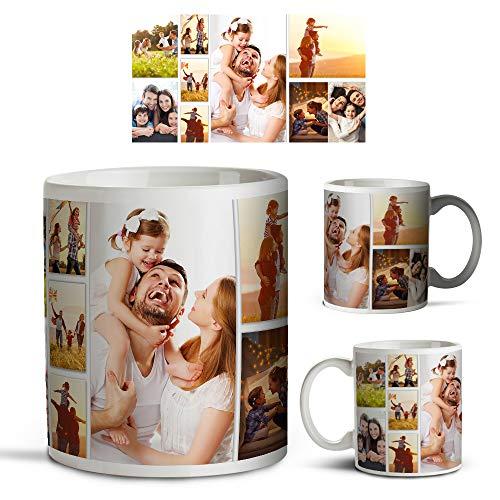 Personalised Collage Mug Professional Quality Images - 11oz - Dishwasher...