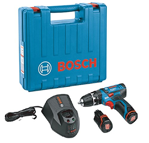 BoschProfessional(ボッシュ)10.8Vコードレス振動ドライバードリル(2.0Ahバッテリー2個・充電器・キャリングケース付)GSB10.8-2-LIN