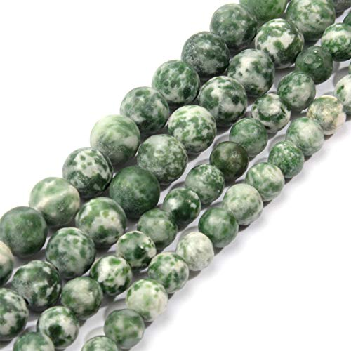 Natural Stone Beads Round Loose Gemstone for Jewelry Making DIY Bracelets Anklets Necklaces and Handicrafts 8mm
