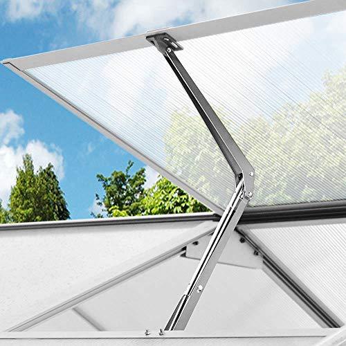 Clouking Automatisch openen van het raam voor broeikas en tuinhuis, automatische raamopener, zonne-ventilatie, voor broeidak, max. belasting: 7 kg.