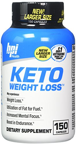 BPI Sports Ketogenic Weight Loss Supplement, 150 Count, New Larger Size, Our #1 Ketogenic Weight Loss Formula