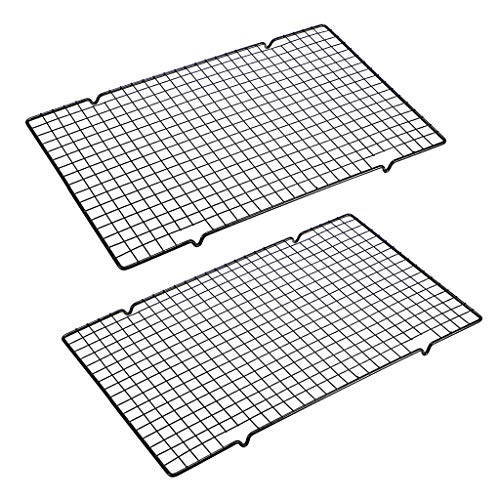 Set of 2 Baking Rack, Non-Stick for Roasting and Baking