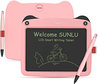 LCD Writing Tablet, 9 Inch Toddler Doodle Board Drawing Tablet, Erasable Reusable Electronic Drawing Pads, Educational and...