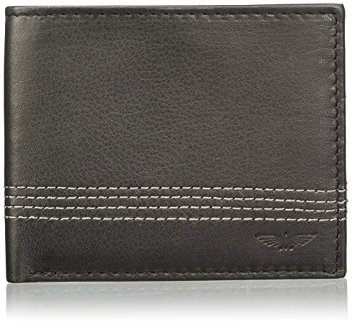 Raymond Black Men's Wallet (PZLW00873-K6)