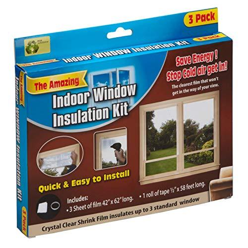 MySmartBuy Indoor Window Insulation Kit Draught Draft Shrink Fit Sealing...