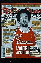 ROLLING STONE 05 FEVRIER 2003 COVER BEN HARPER KRISTIN SCOTT THOMAS NICK CAVE PLACEBO ZWAN