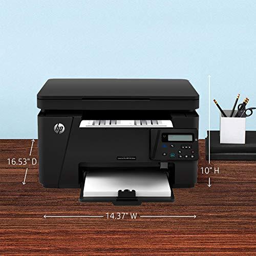 HP Laserjet Pro M126nw Multi-Function Wifi Laser Printer (Print, Copy, Scan, Black)