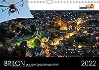 Brilon aus der Vogelperspektive (Wandkalender 2022 DIN A4 quer): Unterschiedlichste Stadt- und Landaufnahmen aus der Sicht eines Vogels. (Monatskalender, 14 Seiten )