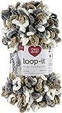 Red Heart Loop-It Yarn, Mixtaupe