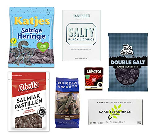 Salty Licorice Variety Pack (7 items)