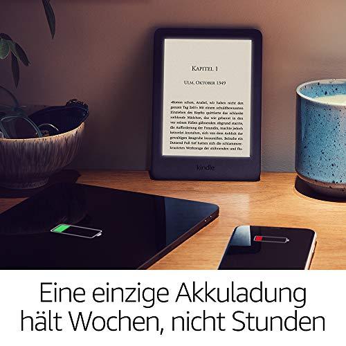 Kindle, jetzt mit integriertem Frontlicht – Schwarz