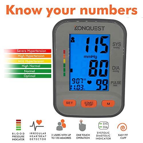 KONQUEST Digital BP Monitoring System KBP-2704A