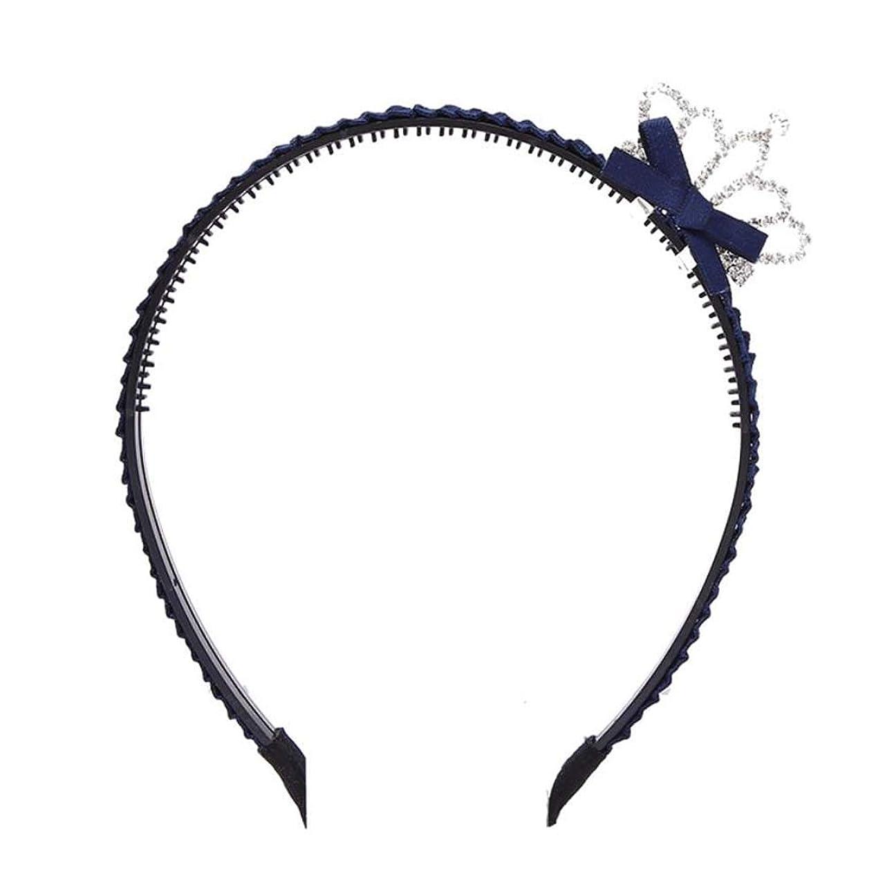 ネクタイゆりかごレビュー子供たちクラウン歯付きヘッドバンドヘアアクセサリーハードヘッドバンド少女のための 04
