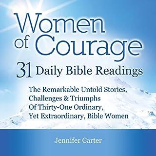 Women of Courage audiobook cover art