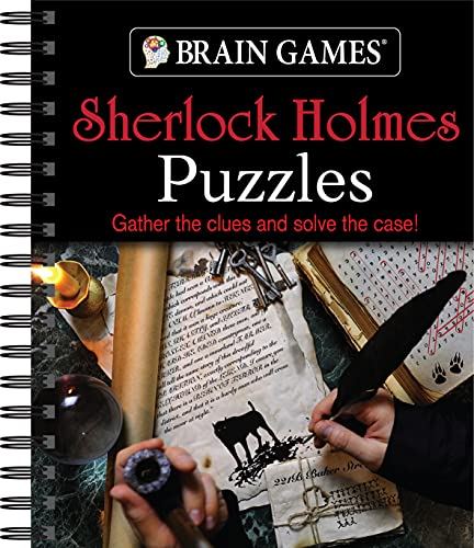 Brain Games - Sherlock Holmes Puzzle (#2), 2: Gather the Clues and Solve the Case!