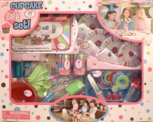 49 Piece Cupcake Party Set Lil Gourmet +++++ by Lil Gourmet