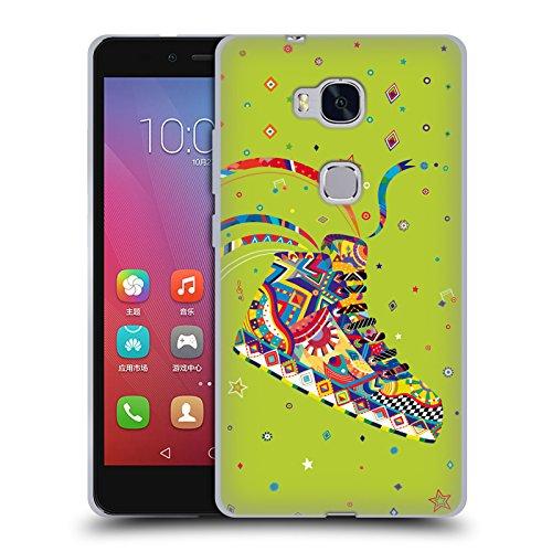 Head Case Designs Offizielle Turnowsky Flash Sneakers Gen Y Soft Gel Handyhülle Hülle Huelle kompatibel mit Huawei Honor 5X / GR5