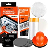 VKTY Headlight Restoration Kit, DIY Headlamp Polishing Kit Vehicle Car Head Light Manual