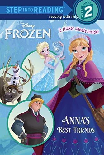 Anna's Best Friends (Disney Frozen) (Step into Reading)の詳細を見る