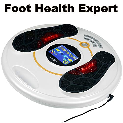 Foot Massager Machine - Newest Feeling from EMS (Electrical Muscle Stimulator) Electric Massage Therapy, Relax...