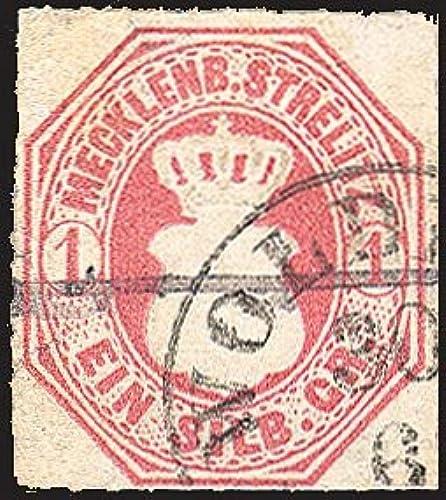 Goldhahn Mecklenburg-Strelitz Nr. 4 gestempelt Briefmarken für Sammler