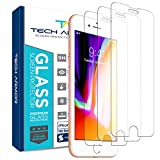 Tech Armor Ballistic Glass Screen Protector for Apple iPhone 6 Plus/6s Plus, iPhone 7 Plus, iPhone 8 Plus [3-Pack]
