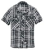 Brandit Herren Roadstar Shirt Hemd, Schwarz/Anthrazit, 3XL