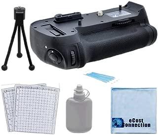 Multi Power Vertical D810 D800 D800e Multi Purpose Battery Grip for Nikon D800 D800e DSLR Camera + Complete Deluxe Starter Kit