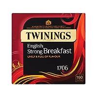 1パック強いイングリッシュブレックファースト160 (Twinings) - Twinings Strong English Breakfast 160 per pack