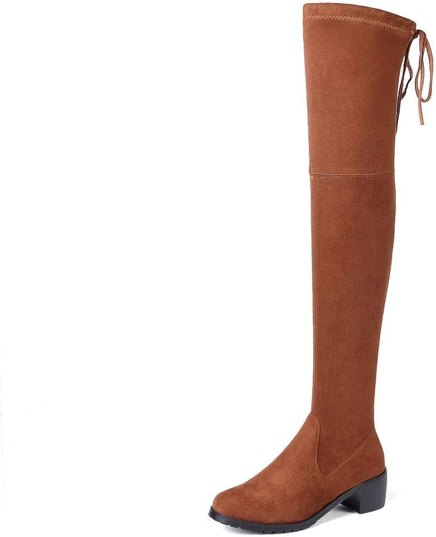 1TO9 Womens Bucket-Style Chukka Nubuck Urethane Boots MNS03427