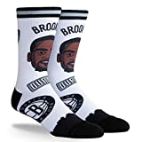 PKWY Kevin Durant Brooklyn Nets #7 Unisex 1-Pack NBA Pins Player Socks (Large)